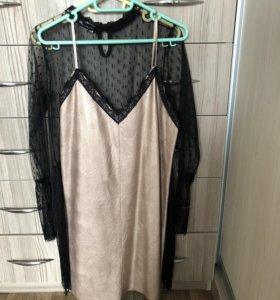 Нижнее платье + сарафан
