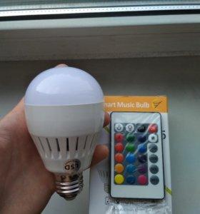 Лампа колонка Bluetooth L-5