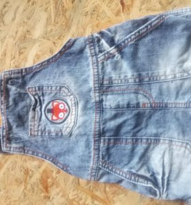 Комбинезон джинс летний 86-92