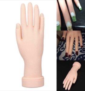 Рука для наращивание ногтей или гель лака