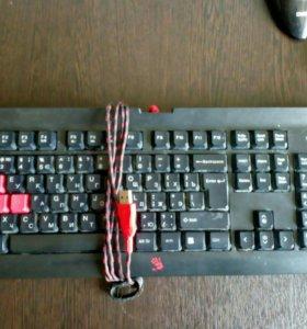 Игровая клавиатура Q100 Bloody