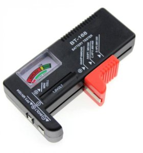 Тестер для проверки батареек