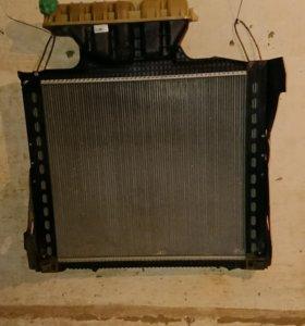 Радиатор охлаждения МАN TGS
