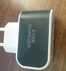 Зарядное устройство на 3 USB
