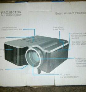 Мини проектор led