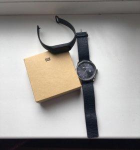 Xiaomi mi band и Часы Альберто Кавани