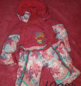Куртки и зимние костюмчки для девочки