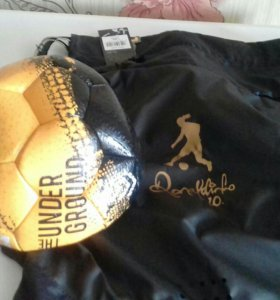 Мяч и сумка от роналдиньо