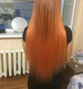 Снятие, коррекция,перекапсуляция,наращивание волос