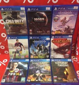 Игры на PS4 в ассортименте\фото от 27.07.18