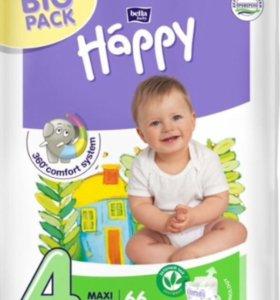 Подгузники Bella baby Happy, размер 4