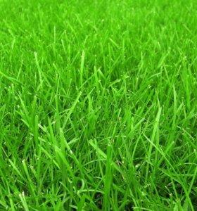 Покос травы и кустарника