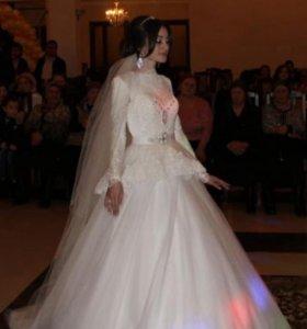 Свадебное платье( прокат)