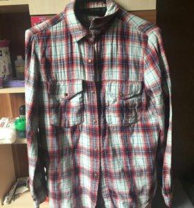 Рубашка клетчатая Zara