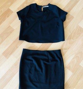 Комплект ( юбка +топ)