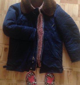 Зимняя лётная куртка