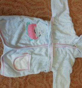 Махровый халат 2 года