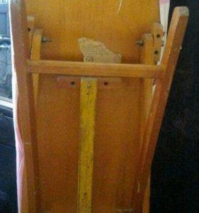 Гладильная деревянная доска