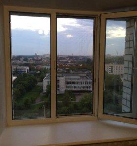 ПВХ окно. 176-145. Профиль 5 камерный.