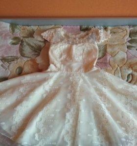 Платье праздничное на подростка
