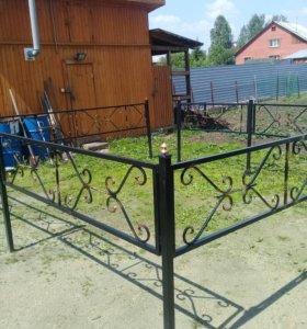 Кованные кресты и оградки