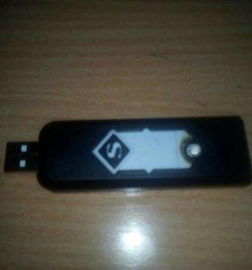 Зажигалки новые USB