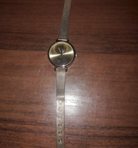 часы с позолотой
