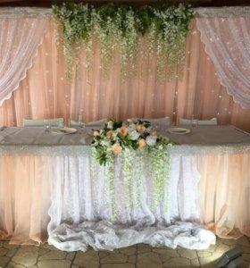 Оформление свадьбы персиковая Свадьба декор