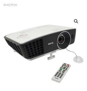 Проектор Benq W750 + экран