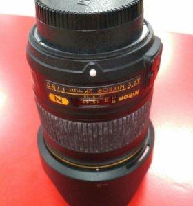 Объектив 28 mm F/1,8 G AF-S Nikkor