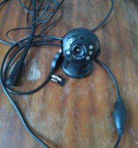 Веб камера Hama с ИК подсветкой и микрофоном