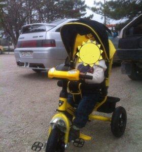 Детский трёхколенный велосипед
