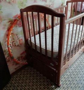 Детский кровать маятник