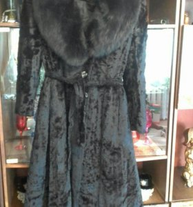Пальто женское осень-зима. Размер 48-50