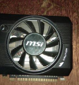 Продам видеокарту msi gtx 640 2gb.
