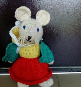 Вязанная мышка