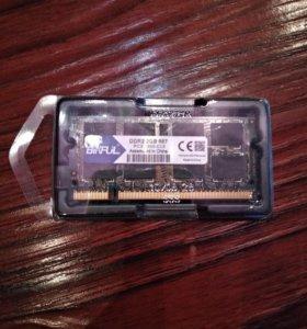 DDR2 для ноутбука