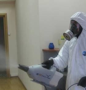 Уничтожение все видов насекомых, плесени, запахов
