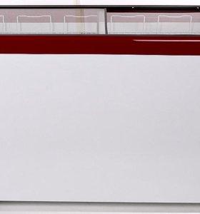 Морозильный ларь со стеклом, обЪем 472л. 5 корзин