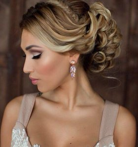 Прическа+ макияж