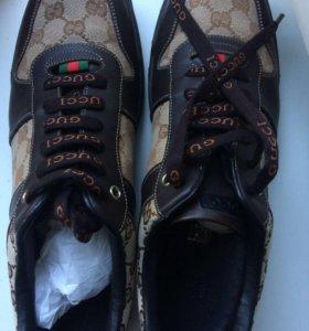 Ботинки (кеды) GUCCI. ОРИГИНАЛ
