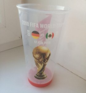 Бокалы с чемпионата мира