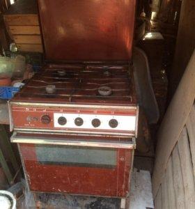 Газовая 4 х камфор печь