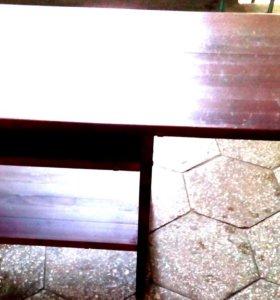 Журнальный стол.Массив. Дерево.