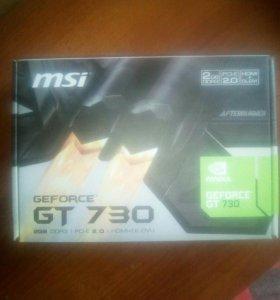 Видеокарта gt 730 2gb DDR3 новое поколение