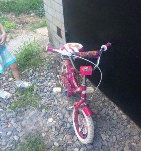 Велосипед для маленькой принцесы