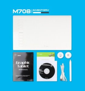 Графический планшет UGEE M708