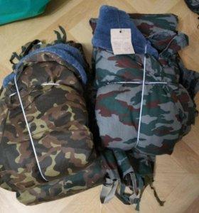 Костюмы зимние военные куртка и штаны