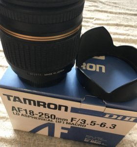 Объектив Tamron di II 18-250 для Никон