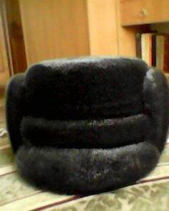 мужская шапка из нерпы